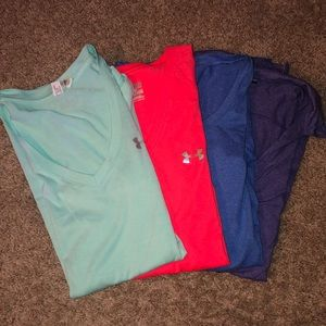Under Armour Tops - Lot of 4 Under Armour Workout Shirts
